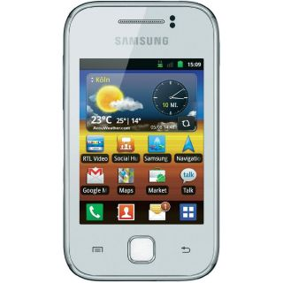 Samsung Galaxy Y S5360 (7.62 cm (3 ) Display, 2 Mio. Pixel Kamera