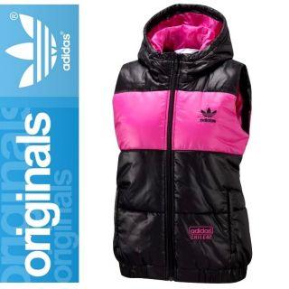 Adidas Originals CHILE 62 Glossy Weste Damen schwarz/pink Women Vest