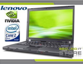 Lenovo ThinkPad T61 Intel Core 2 Duo 2 x 2 4 GHz 2 GB RAM 160 GB HDD