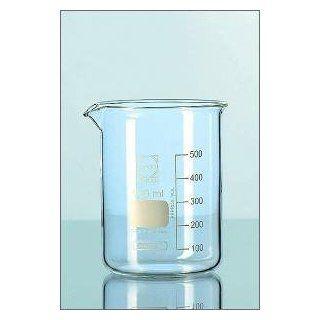 50 ml Becherglas mit niedriger Form und Ausguss DURAN ®: