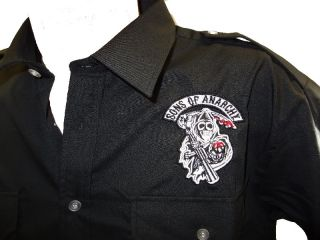 REDWOOD original Sons of Anarchy SAMCRO PILOT T Shirt HEMD Shirt