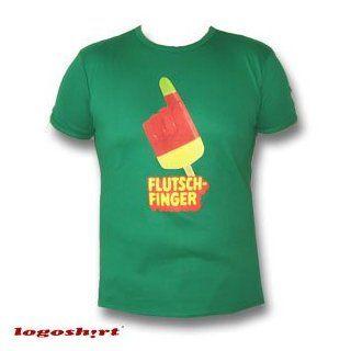 Logoshirt   Flutschfinger (Kulteis) T Shirt Slim Fit, gr?n