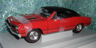 ERTL 7246 ´67 CHEVY CHEVELLE L 78 SS  red/black vinyl top  118