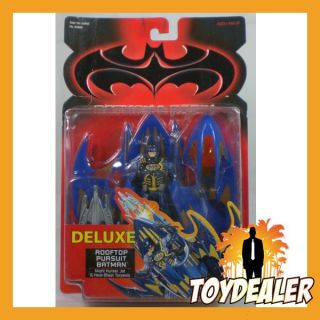 DELUXE ROOFTOP PERSUIT BATMAN & ROBIN MOVIE FILM ACTION FIGUR MOC 1997
