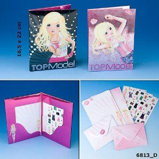 Depesche 6813 Top Model Briefpapier / Sticker / Umschläge, Sie