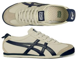 Asics Schuhe Onitsuka Tiger Mexico 66 beige/navy/latte blue blau alle