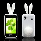 Samsung Galaxy Ace GT S5830 Cover Rabbit Banny Case Hase Schutzhülle