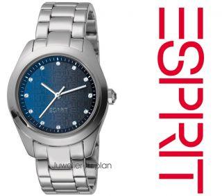 Mila Blue ES102712001 Edelstahl Damen Uhr NEU UVP 79€