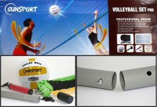 Beach Volleyball Set TOURNAMENT, Netz und Zubehör