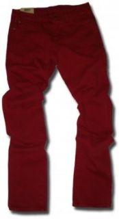 Wrangler Damen Jeans Lia Slim Leg rot Bekleidung