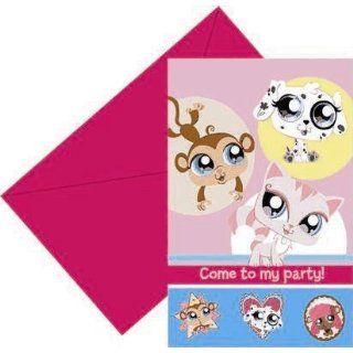 Littlest Pet Shop Einladungskarten Littlest Pet Shop