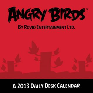 Angry Birds   2013 Daily Desk Calendar Calendar Calendars