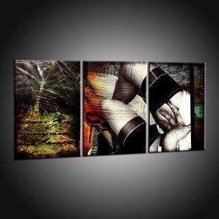 Kunstdruck Abstrakte Erotische Drucke auf Leinwand   Erotik pur in