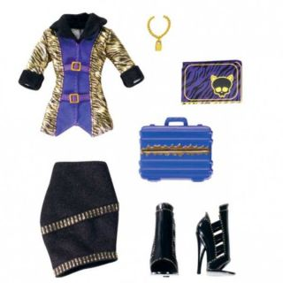 MONSTER HIGH   Fashion Styling Clawdeen Wolf