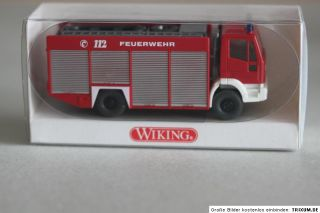 ist ein Wiking 623 01 29 Rüstwagen RW 2 (Iveco) 187 Spur H0 in OVP