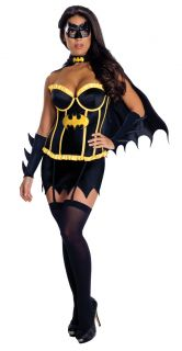 Frauen Sexy Batgirl Superhelden Korset Fancy Dress Frauen Batman
