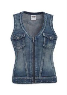 Harley Davidson Jeansweste Club 96173 11VW Damen Shirt