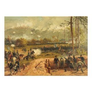 American Civil War Battle of Kennesaw Mountain Custom Announcements