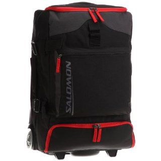 black/bright red, 58x35x31 cm, 45 Liter Sport & Freizeit