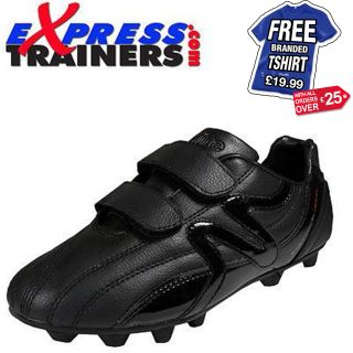 Mitre M2 Sport DV Junior/Boys Moulded Velcro Football Boots