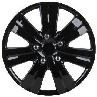 Unitec 75190 Premium  Radzierblenden 4er  Satz Sao Paulo, schwarz 35,6