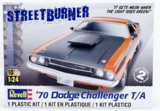 Dodge Challenger 1970 124 Revell 2 in 1 US Car Modellbausaz 12569