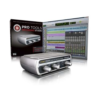 AVID Recording Studio Audiobearbeitungs Soft  und Hardware Fast Track