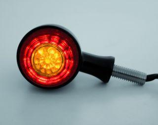 Rücklicht LED/Blinker COLORADO, schwarz, Paar