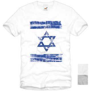 ISRAEL Vintage T Shirt Flagge Flag Jerusalem Judentum Tel Aviv David