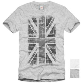 ENGLAND Union Jack Vintage T Shirt Britain Flagge United Kingdom UK