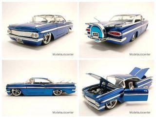 Chevrolet Impala 1959 blau, Modellauto 124 / Jada Toys