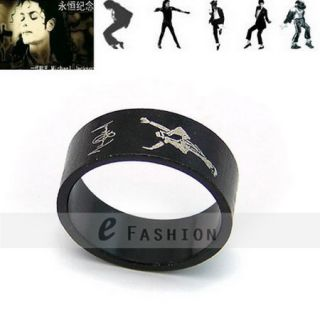 Michael Jackson Edelstahl Ring NEU This Is It 102 0101