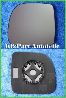 Spiegelglas RENAULT KANGOO Ab(97 02) konv Links