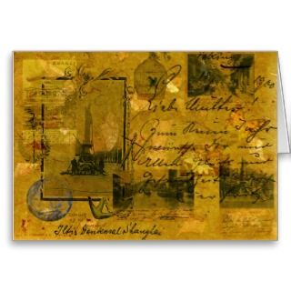 Greeting Cards, Note Cards and Safe Journey Greeting Card Templates