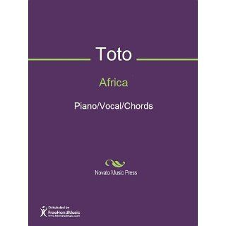 Africa Sheet Music (Piano/Vocal/Chords) eBook David Paich, Jeff