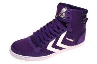 Hummel Sneaker Slimmer Stadil High Canvas Purple/White