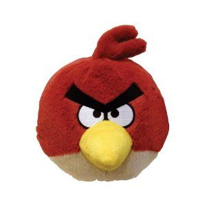 ANGRY BIRDS   plush toy red bird   Plüsch mit Sound (roter Vogel