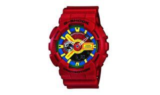 Casio G Shock GA 110FC 1AER G Shock Uhr Watch red rot