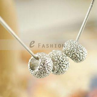 Anhänger Retro Damen Kurze Kette lady necklace NEU 101 0441