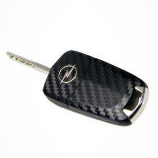 Carbon Schlüssel Skin Opel Corsa D Astra H Vectra C Zafira B OPC GTC