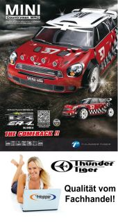 Thunder Tiger Mini Cooper WRC 1 8 Brushless 2,4 GHz 6402 F101