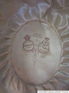 ZYLINDER HUT ANTIK BORSALINO BALMA ANTICA 1900 INKL. HUTSCHACHTEL ORIG