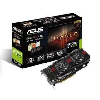 Asus NVIDIA GeForce GTX 670 Direct CU II DC2OG Computer