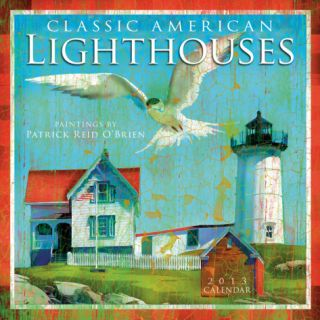 Classic American Lighthouses    2013 12 Month Calendar Calendars