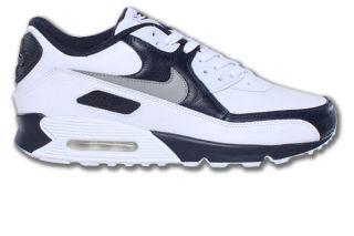 Nike Air Max 90 Premium Royalblau/Weiss Neu Größen wählbar