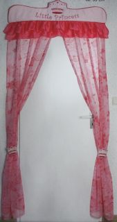 Türvorhang~LITTLE PRINCESS~Vorhang~Knorr~114 652 rosa