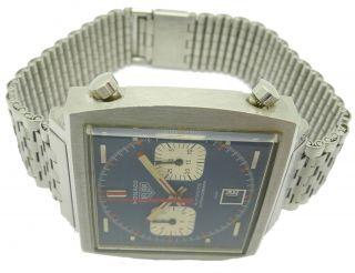 Lieferumfang TAG HEUER MONACO Ref. 1133 Steve McQueen Chronograph
