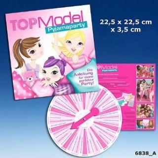 Depesche 6838 Top Model Pyjama Party Box Anleitung für deine perfekte