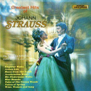 THE GREATEST HITS OF JOHANN STRAUSS 1970 VINYL LP THE VIENNA STRINGS