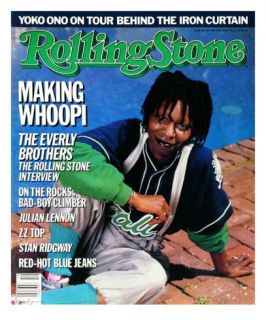 Whoopi Goldberg, Rolling Stone no. 473, May 1986 Photographic Print by Bonnie Schiffman